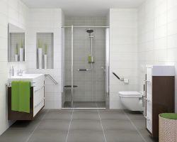 Biała łazienka Projektoskoppl