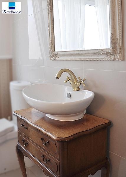 łazienka W Stylu Rustykalnym Projektoskoppl