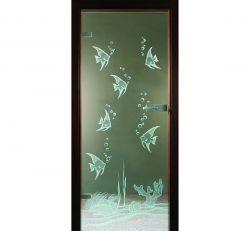 Podwodne Inspiracje Drzwi Szklane Do łazienki