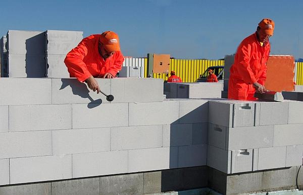 Bloczki z betonu komórkowego