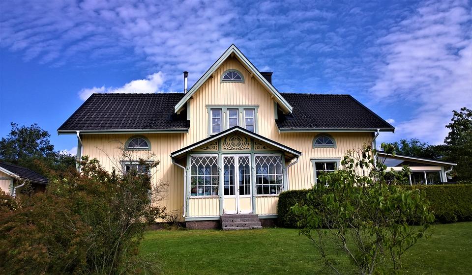 Nowoczesna elewacja ozdobna domu