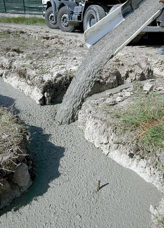 Wylewka fundametów pod dom - beton samozagęszczalny