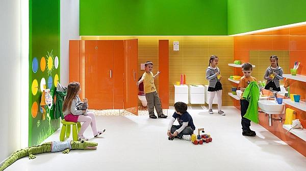 Kolorowe przybory łazienkowe dla dzieci