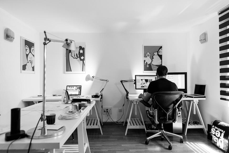 Moje biuro - nowoczesna aranżacja