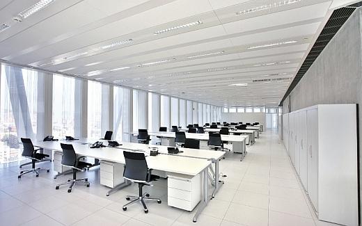 Nowoczesne biuro typu open space