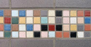 Nowoczesna mozaika w łazience