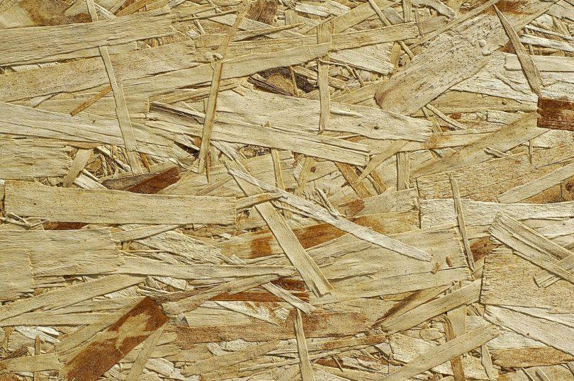 Materiały drewnopochodne - podkład z płyt OSB