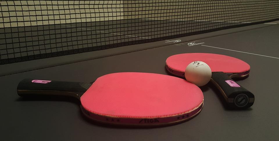 Pokój zabaw - tenis stołowy