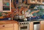 Pomysłowa glazura kuchenna