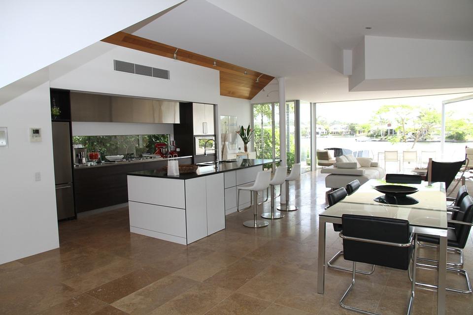 Salon z kuchnią - funkcjonalnie i z pomysłem