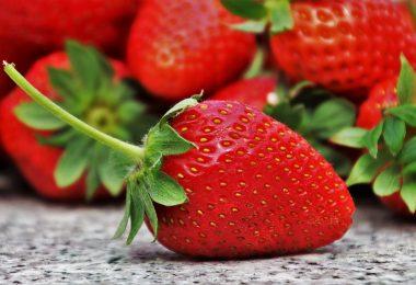 Smaczne i zdrowe truskawki