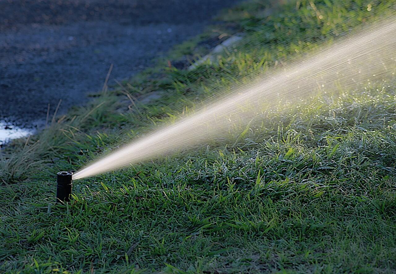 System, nawadniania trawnika