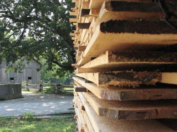 Zastosowanie drewna w budownictwie - tarcica