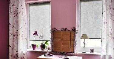 Transparentne rolety do sypialni